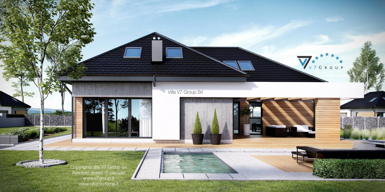 Immagine Villa V29 - vista piscina grande