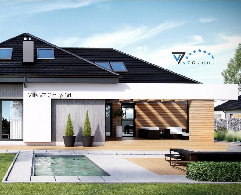 Immagine Villa V29 - il dettaglio della piscina moderna