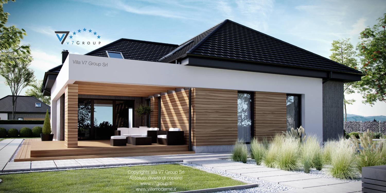 Immagine Villa V29 - vista terrazzo esterno grande
