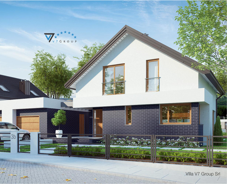 Immagine Villa V3 (B) - parte frontale della casa - piccole dimensioni