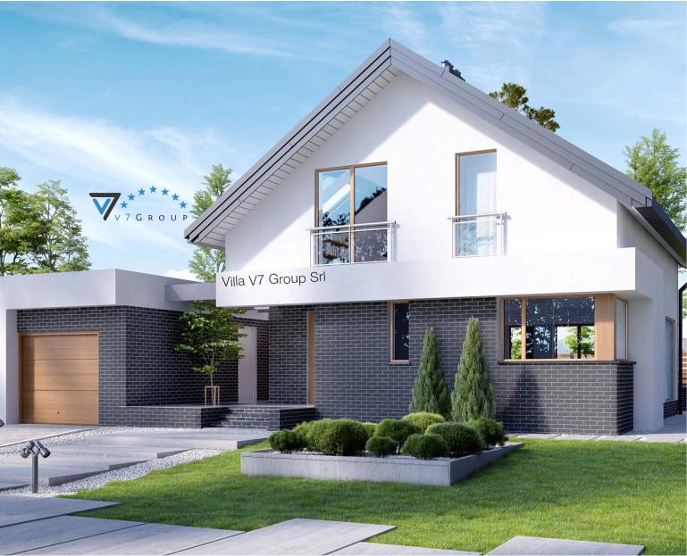 Immagine Villa V3 (progetto originale) - vista frontale piccola