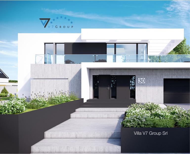 Immagine Villa V30 (progetto originale) - baner di piccole dimensioni