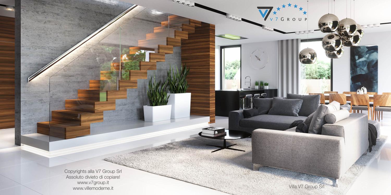 Immagine Villa V30 (progetto originale) - interno 1 - soggiorno
