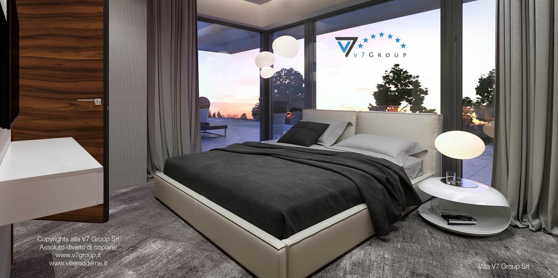 Immagine Villa V30 (progetto originale) - interno 10 - camera matrimoniale