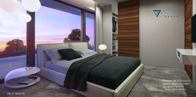 Immagine Villa V30 (progetto originale) - interno 11 - camera matrimoniale