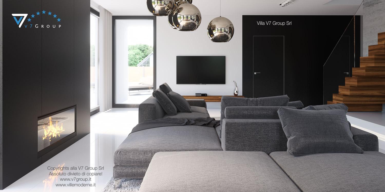 Immagine Villa V30 (progetto originale) - interno 3 - soggiorno