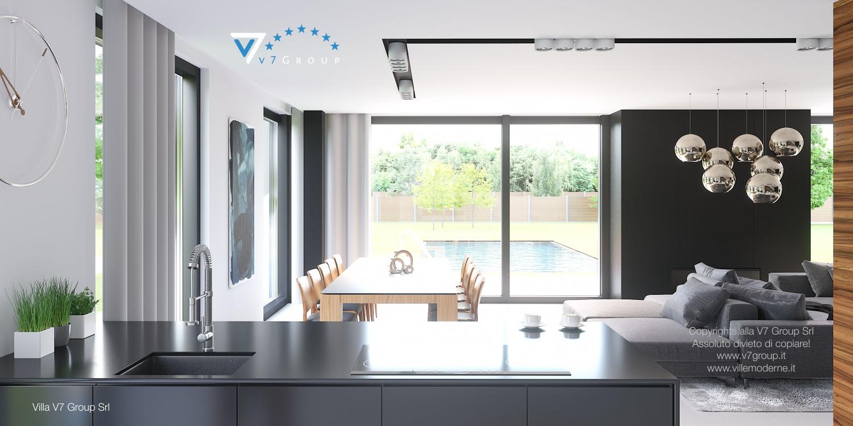 Immagine Villa V30 (progetto originale) - interno 5 - sala da pranzo