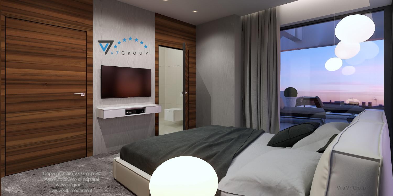 Immagine Villa V30 (progetto originale) - interno 9 - camera matrimoniale
