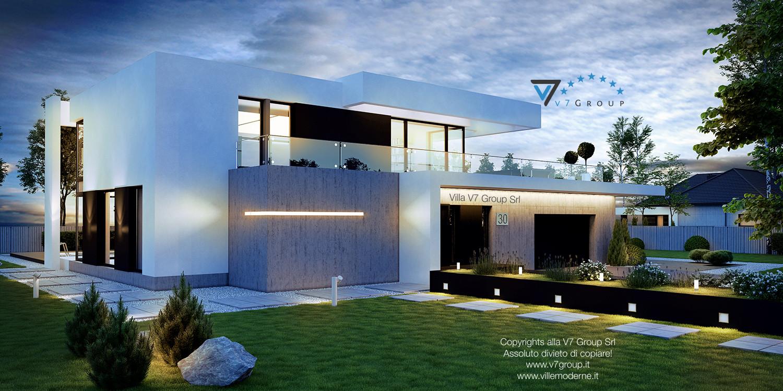 Immagine Villa V30 (progetto originale) - vista frontale grande
