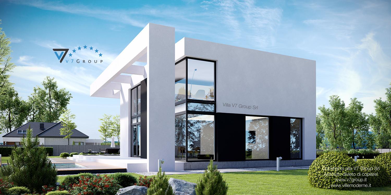 Immagine Villa V30 (progetto originale) - vista laterale grande