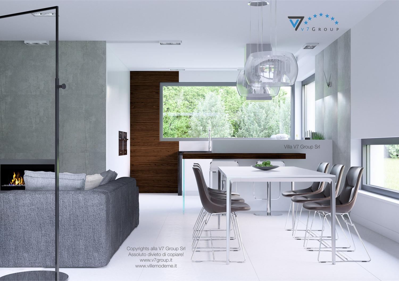 Immagine Villa V31 (progetto originale) - interno 3 - sala da pranzo