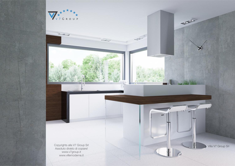Immagine Villa V31 (progetto originale) - la cucina in stile moderno