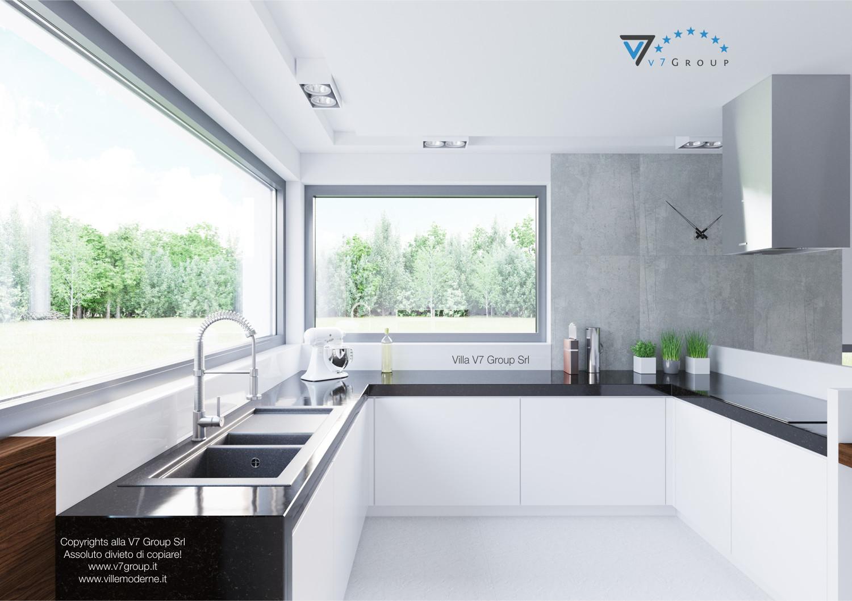 Immagine Villa V31 (progetto originale) - la cucina della villa