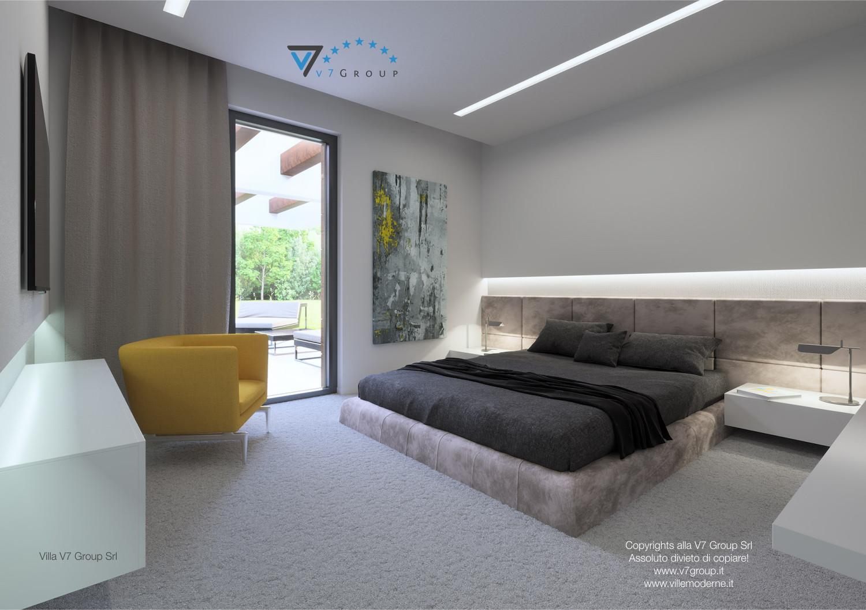 Immagine Villa V31 (progetto originale) - il design della camera matrimoniale