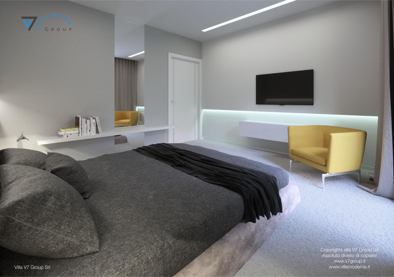 Immagine Villa V31 (progetto originale) - interno 9 - camera matrimoniale