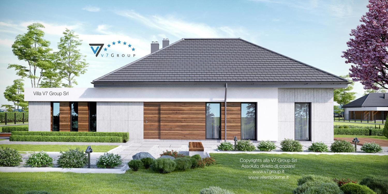 Immagine Villa V31 (progetto originale) - vista laterale grande