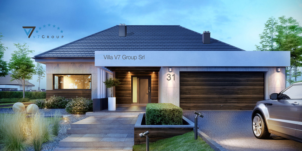 Immagine Villa V32 (progetto originale) - la presentazione di Villa V31