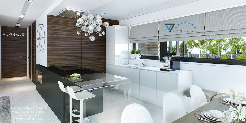 Immagine Villa V32 (progetto originale) - interno 2 - cucina