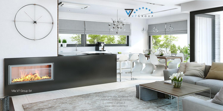 Immagine Villa V32 (progetto originale) - interno 6 - cucina