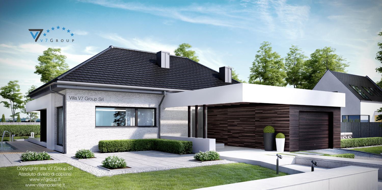 Immagine Villa V32 (progetto originale) - vista frontale grande