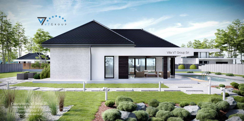 Immagine Villa V32 (progetto originale) - vista laterale grande