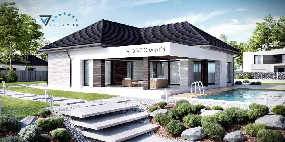 Immagine Villa V33 (progetto originale) - la presentazione di Villa V32