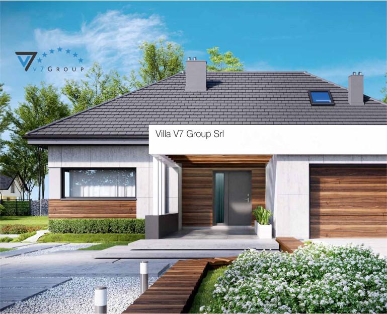 Villa v33 progetto originale il progetto e la for Progetti di ville