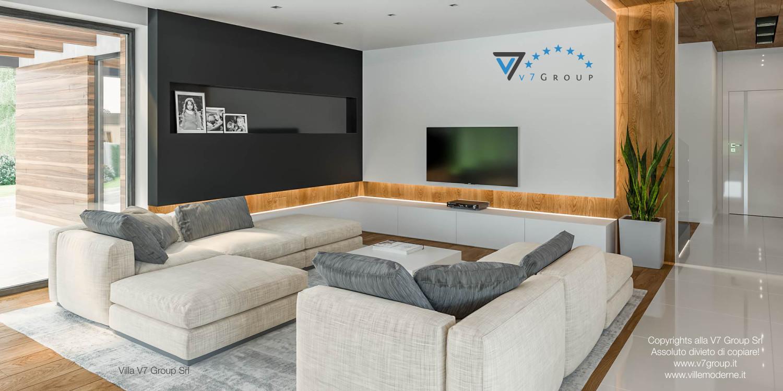 Immagine Villa V33 (progetto originale) - l'angolo soggiorno