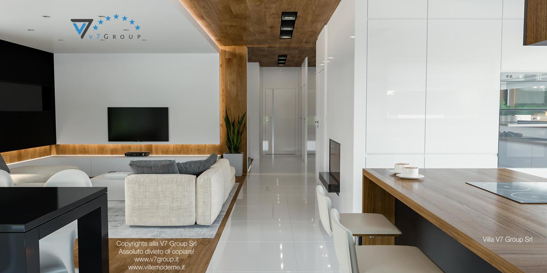Immagine Villa V33 (progetto originale) - il corridoio che collega la casa