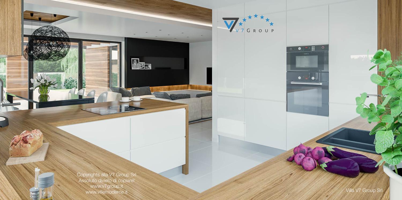 Immagine Villa V33 (progetto originale) - il design della cucina