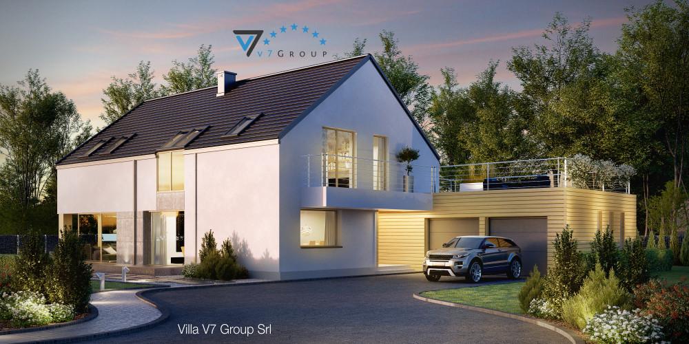 Immagine Villa V34 (progetto originale) - la presentazione di Villa V35