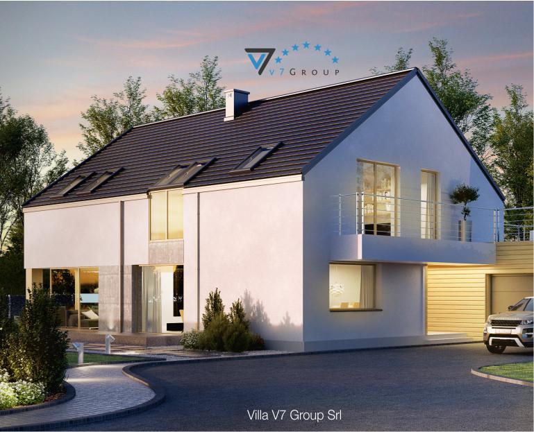 Immagine Villa V35 (progetto originale) - la struttura esterna della villa