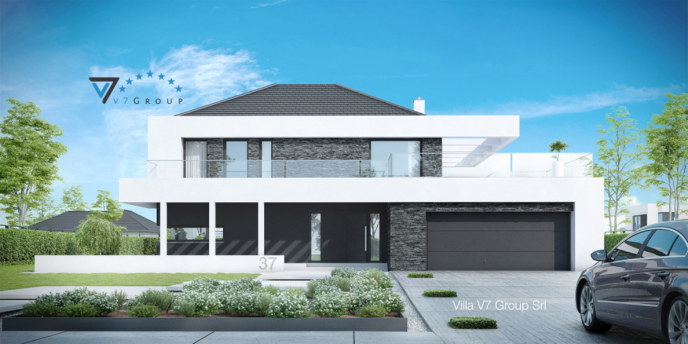 Immagine Villa V36 (progetto originale) - la presentazione di Villa V37