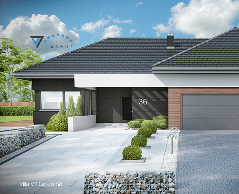 Immagine Villa V36 (progetto originale) - baner di piccole dimensioni