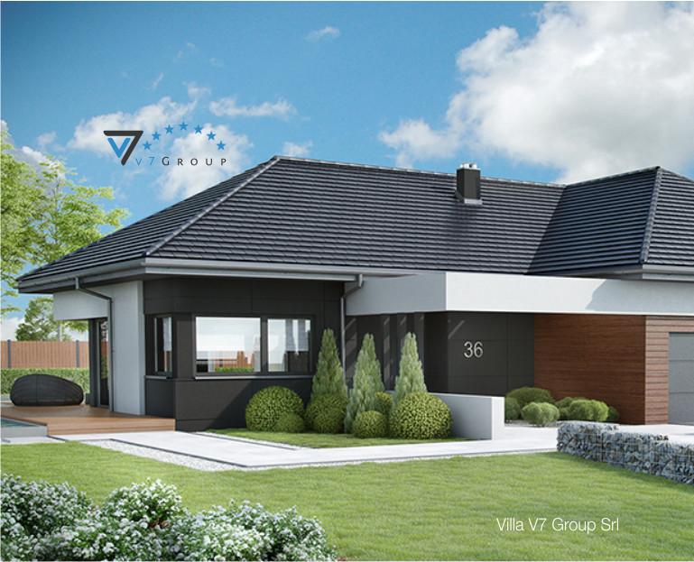 Villa v36 progetto originale il progetto e la for Progetto casa piccola