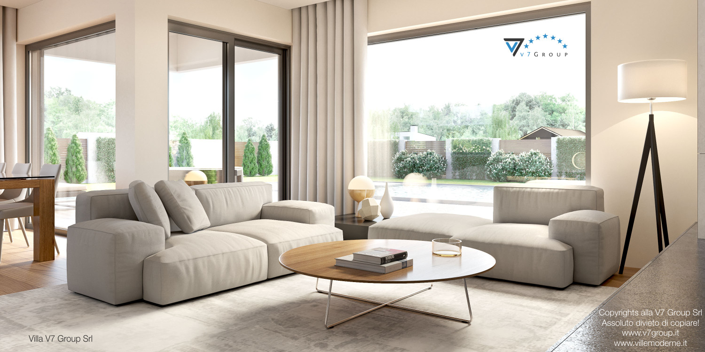 Immagine Villa V36 (progetto originale) - interno 1 - soggiorno