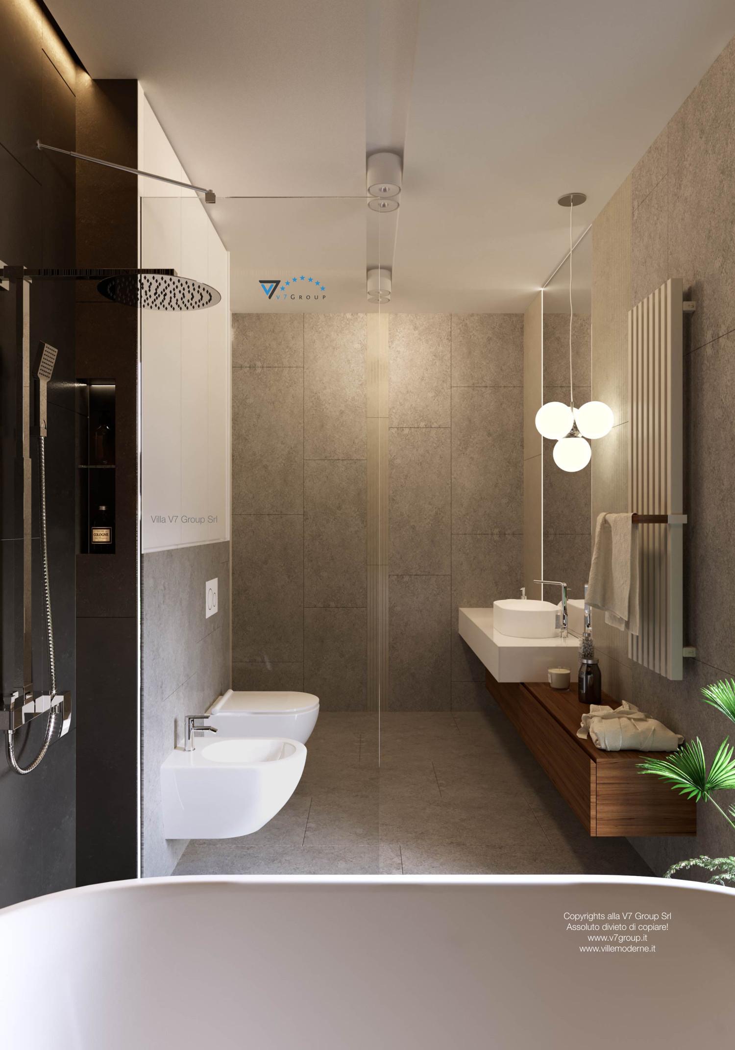 Immagine Villa V36 (progetto originale) - interno 13 - bagno