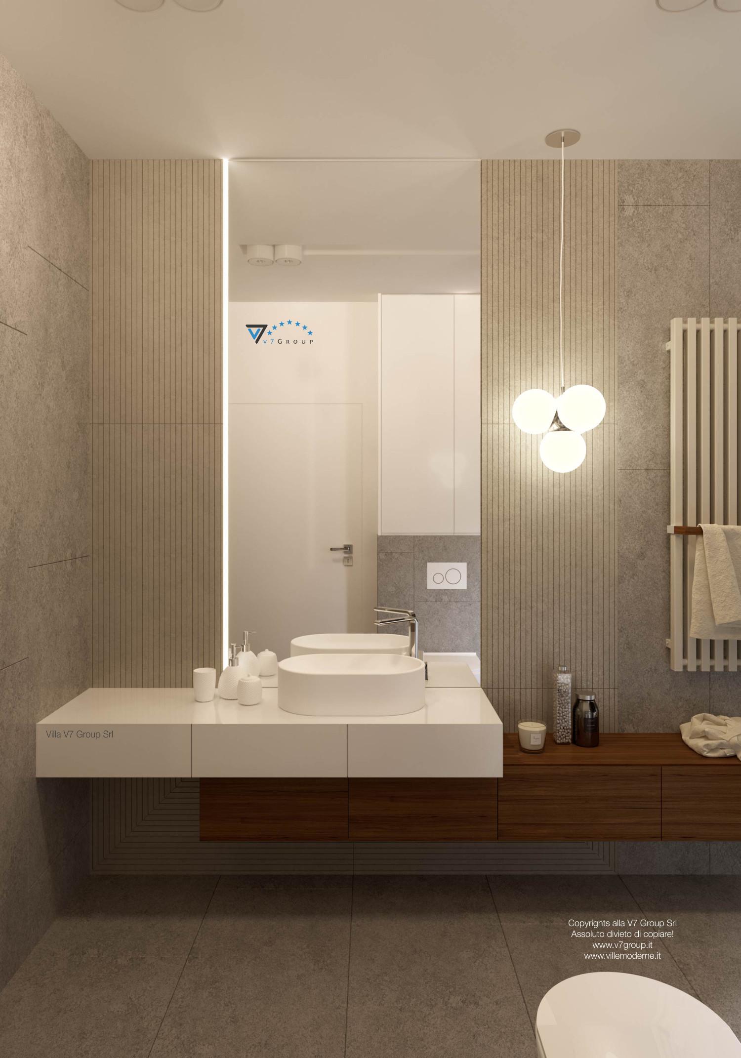 Immagine Villa V36 (progetto originale) - interno 14 - bagno