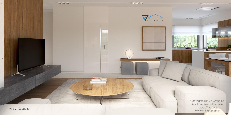 Immagine Villa V36 (progetto originale) - interno 4 - soggiorno