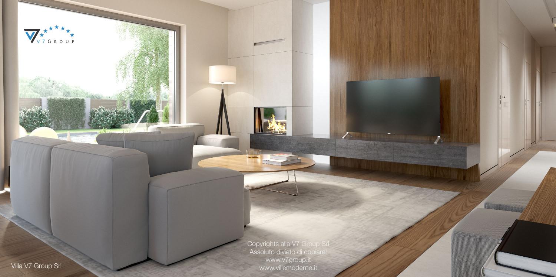 Immagine Villa V36 (progetto originale) - interno 5 - soggiorno