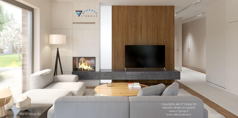 Immagine Villa V36 (progetto originale) - interno 6 - soggiorno