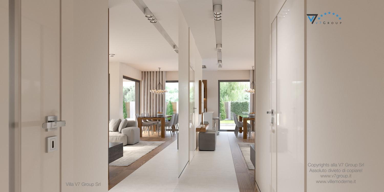 Immagine Villa V36 (progetto originale) - interno 8 - corridoio