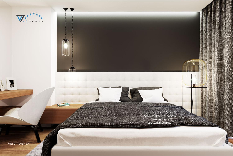 Immagine Villa V37 (progetto originale) - interno 13 - camera matrimoniale