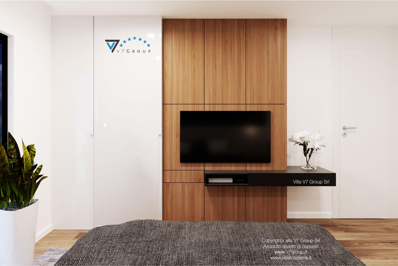 Immagine Villa V37 (progetto originale) - la sistemazione delle camere