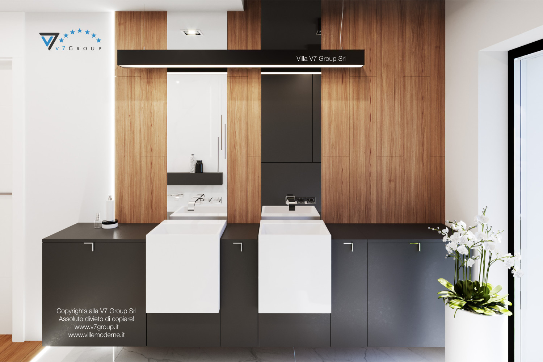 Immagine Villa V37 (progetto originale) - design del bagno