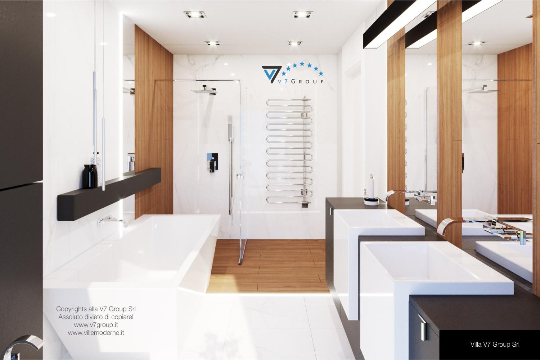Immagine Villa V37 (progetto originale) - la sistemazione del bagno