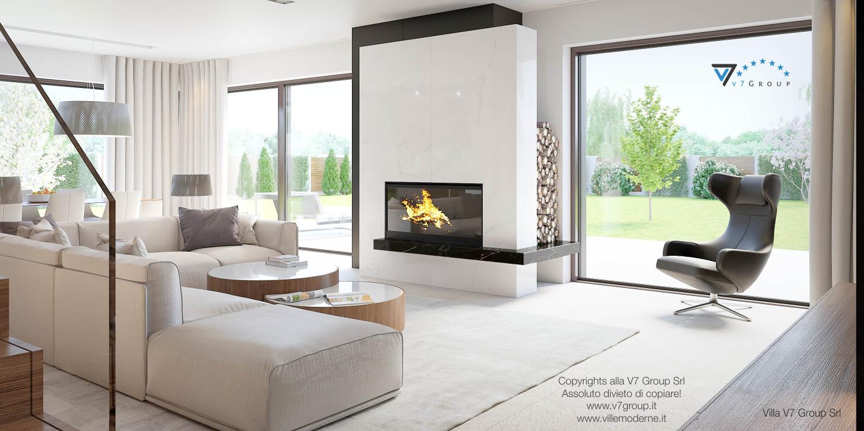 Immagine Villa V37 (progetto originale) - la sistemazione mobili