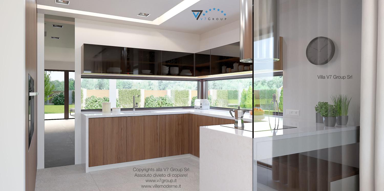 Immagine Villa V37 (progetto originale) - il design moderno della cucina