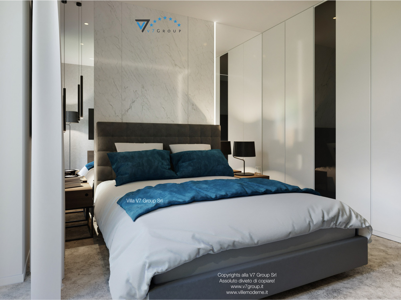 Immagine Villa V38 (progetto originale) - interno 11 - camera matrimoniale