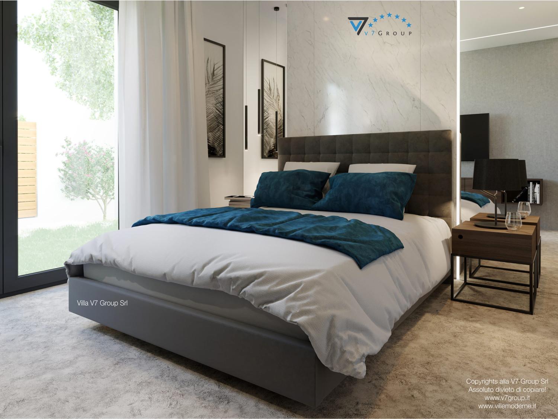 Immagine Villa V38 (progetto originale) - interno 12 - camera matrimoniale